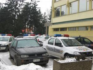 VW-ul, indisponibilizat în curtea Poliţiei