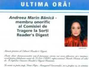 Andreea Marin Bănică a recunoscut că fluturaşul cu mesajul ei a fost distribuit cu acceptul ei