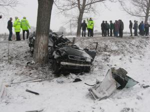 Accidentul s-a produs vineri, 5 martie, în jurul orei 16.00