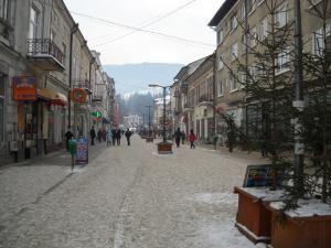 Tot oraşul Vatra Dornei, de la localnici până la turişti, dârdâie de frig cu câteva zile înainte de Crăciun