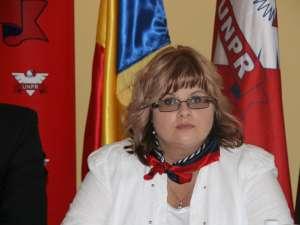 Preşedinta Organizaţiei Judeţene Suceava a UNPR, Cătălina Vartic
