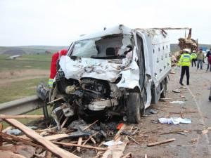 Scene de groază la locul accidentului