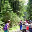 Elevi ai Colegiului Alexandru cel Bun, în excursie pe Rarău