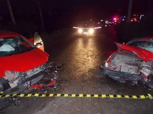Accidentul a avut loc la ieşirea din Suceava spre Adâncata
