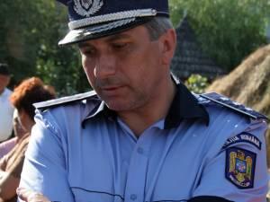 Şeful IPJ Suceava, comisarul-şef Ioan Nicuşor Todiruţ