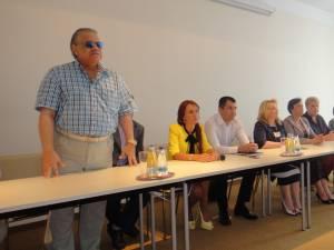 Preşedintele PP-DD, Simina Man, a organizat, la finele săptămânii trecute, la Rădăuţi, o întâlnire cu liderii suceveni ai PP-DD