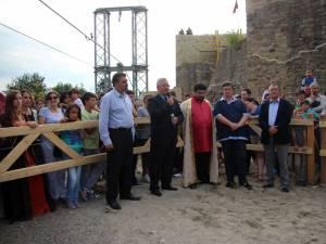 """Oficialităţi locale şi judeţene au participat la deschiderea Festivalului de Artă Medievală """"Ştefan cel Mare"""""""