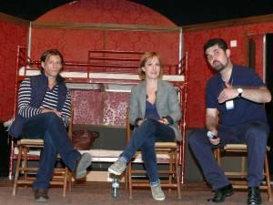 Marius Manole, Medeea Marinescu şi preotul Liviu Mihăilă