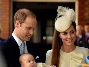 Botezul prinţului George, un eveniment intim: doar 22 de invitaţi au asistat la ceremonie