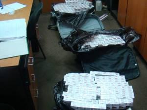 Au dispărut 52 de baxuri de ţigări din Camera de Corpuri Delicte a Poliţiei Rădăuţi