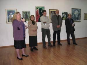 """Expoziţia de grafică şi pictură """"Copac - Viaţă - Tandreţe"""""""