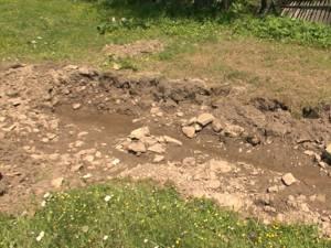 Aici a fost găsit îngropat bărbatul din comuna Frumosu