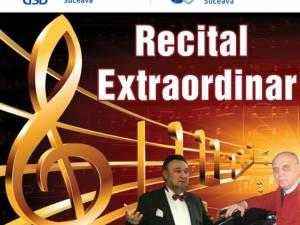 Recital cu basul George Crăsnaru și pianistul Remus Manoleanu, la USV