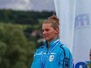 O campioană europeană la kaiac, cetăţean de onoare al comunei Moldova Suliţa