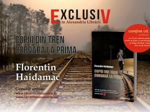 """Doctorul Florentin Haidamac îşi lansează luni cel mai recent volum, """"Copiii din tren coboară la prima"""""""