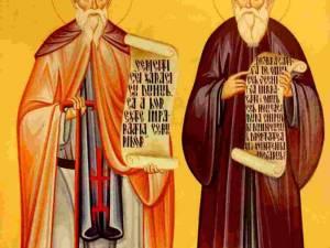 Viaţa Sfinţilor Cuvioşi Rafail şi Partenie de la Agapia Veche
