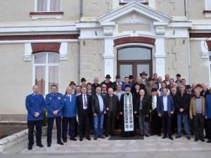 """Jandarmii din Fălticeni au sărbătorit """"Ziua Veteranilor Unității"""""""