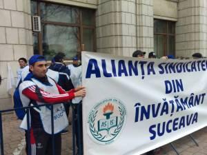 Angajaţii din învăţământul preuniversitar anunţă noi acţiuni de protest