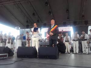 Nicolae Botgros a primit titlul de Cetățean de onoare al Sucevei la finele unui concert de senzație