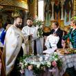 Botezul a avut loc duminică la prânz, la biserica din Mălini, într-un cerc restrâns Foto Ovidiu Onofrei