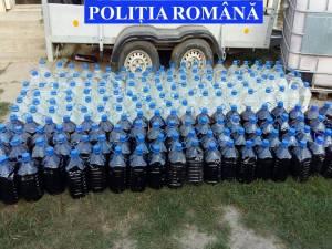 23  de  aparate  tip  slot-machine  şi  o  tonă  de  alcool, confiscate  în  urma  a  şase  percheziţii  desfăşurate  de poliţişti