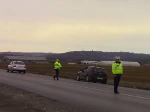 Urmărire pe străzile din Suceava pentru prinderea unui şofer fără permis