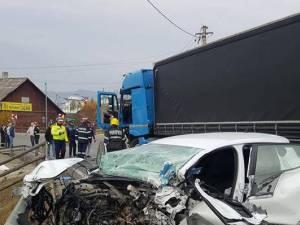 Bărbat rănit în urma unui accident petrecut la Dealu Floreni