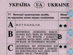 Şofer cercetat pentru patru infracţiuni după ce a fost prins cu permis de conducere ucrainean suspectat a fi fals