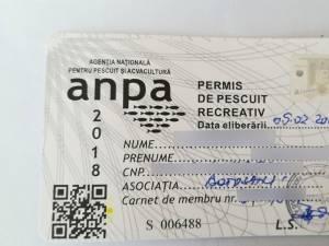 Așa arată un permis legal eliberat de ANPA