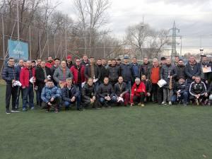 Participanţii la campionatul de minifotbal, la ultima festivitate de premiere