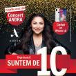 Trei zile până la concertul ANDRA la 10 ani de Shopping City Suceava!