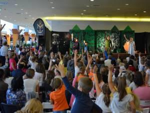 Spectacol de teatru pentru copii, duminică, la Iulius Mall