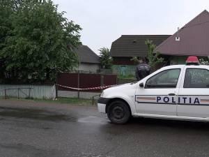 Poliţiştii au securizat imediat casa