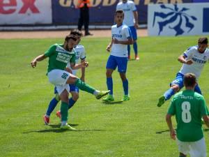 Vlad Stănescu a înscris cel mai frumos gol al meciului cu un trasor de la 25 de metri