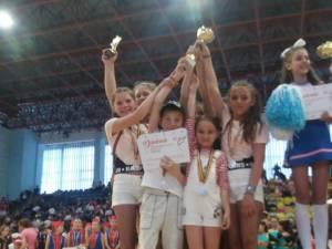Sportivi din Moldoviţa, calificaţi la Campionatul European de Cheerleading din Finlanda