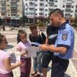 """""""Copilărie în Siguranţă"""", acţiuni preventive ale poliţiştilor, la Suceava şi Fălticeni"""