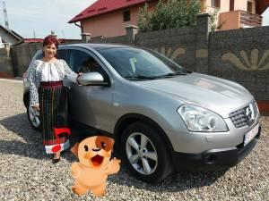 Niocoleta Cojocaru și maşina cumpărată împreună cu soţul cu care este acum în divorț