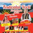Trei zile de concerte în parcarea Shopping City Suceava, la Festivalul Verii