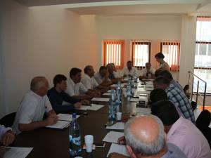 Ședinta de consiliu local în care Radu Reziuc a fost înlocuit din funcţie