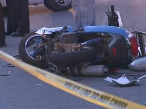 În cazul ambelor accidente s-a stabilit că vina le aparţine mopediştilor Foto: www.ziaruldepenet.ro