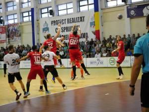 Universitatea Suceava a fost foarte aproape de o victorie în fața campioanei Dinamo București