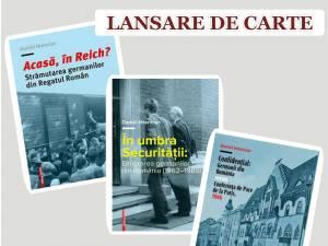 Triplă lansare de carte a istoricului Daniel Hrenciuc
