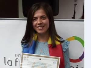 Loc pe podium pentru o elevă din judeţ la Olimpiada Internaţională de Franceză