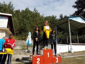 Podiumul individual la senioare a fost ocupat doar de sportive din judeţul Suceava