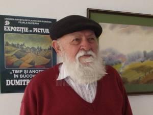 """Vernisajul Expoziției """"Peisaj Bucovinean"""" de Dumitru Rusu, astăzi, la Galeriile """"Ion Irimescu"""""""