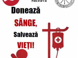 Campanie de donare de sânge organizată de Asociaţia Studenţilor Creştini Ortodocşi Români – Filiala Suceava
