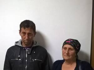 Gheorghe Antoneag, bărbatul rămas cu infirmitate, alături de mama sa