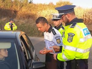 Poliţiştii au desfăşurat activităţi de informare a şoferilor
