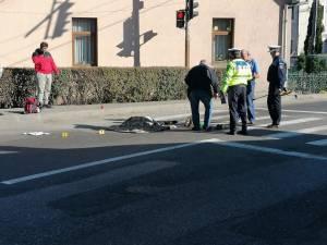 Groaznicul accident rutier petrecut la Câmpulung Moldovenesc, pe 25 octombrie, în care o bătrână în vârstă de 82 de ani a murit