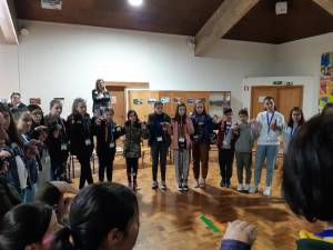 """Proiect Erasmus+ """"Let s go to learn outside !"""","""